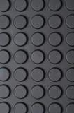 Documento di parete nero circolare del rilievo Fotografia Stock