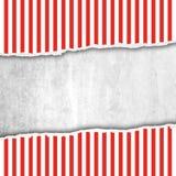 Documento di Riped e fondo bianco con spazio per Immagine Stock Libera da Diritti