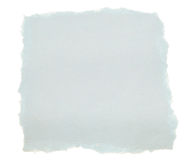 Documento di scarto blu Fotografie Stock Libere da Diritti