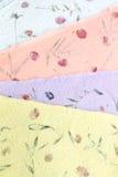 Documento documento Handmade Sa Fotografia Stock