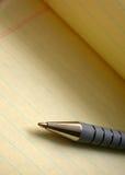 Documento e penna Fotografia Stock Libera da Diritti