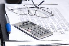 Documento finanziario Fotografie Stock