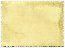 Documento fotografico invecchiante Fotografia Stock