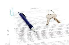 Documento giuridico da vendere Immagine Stock Libera da Diritti