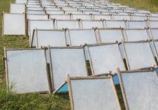 Documento Handmade del gelso Fotografie Stock