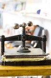 Documento handmade fabbricante Fotografie Stock Libere da Diritti