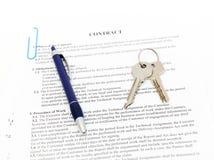 Documento jurídico para la venta Imagen de archivo
