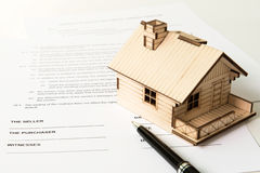 Venta de las propiedades inmobiliarias Fotos de archivo