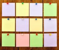 Documento luminoso di colore Fotografia Stock