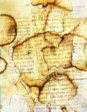 Documento macchiato XI illustrazione vettoriale