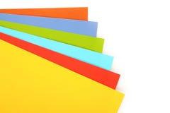 Documento Multi-colored fotografia stock libera da diritti