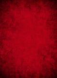 Documento rosso Grungy Fotografia Stock