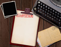 Documento secretísimo Foto de archivo