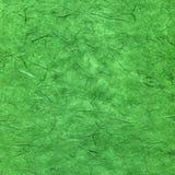 Documento strutturato verde Immagine Stock