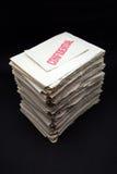 Documentos confidenciales Fotografía de archivo libre de regalías