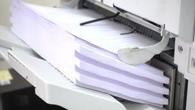 Documentos de la impresión almacen de video