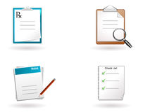 Documents royalty free illustration