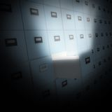 Documents. Big File cabinet with documents Royalty Free Stock Photo