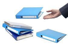 Documents  binder Royalty Free Stock Photography