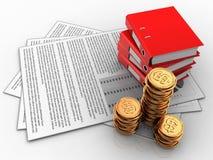 documents 3d Photo libre de droits