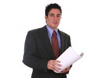 Documents d'affaires Photo libre de droits