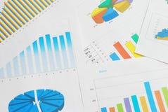 Documents de finances photos libres de droits