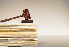 Documents de législation Photographie stock