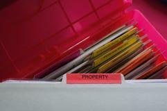 Documents de propriété personnelle Photos libres de droits