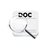 Documents de recherche Vecteur Images libres de droits