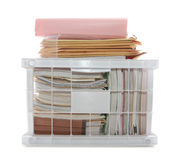 Documents and Folders Royalty Free Stock Photo
