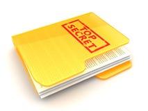 documents hemlighet Arkivfoton