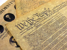 Documents historiques Photographie stock