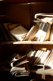 Documents in a hospital in Pripyat Stock Photos