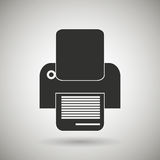 Documents icon design Stock Images