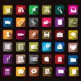 Documents icon Royalty Free Stock Photos