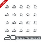 Documents Icons - Set 1 of 2 // Basics. Vector icons set for your web or presentation projects