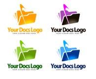 Documents Logo Stock Image