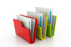 documents mappen Arkivbilder