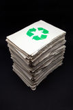Documents for recycling Royalty Free Stock Photo