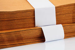 Documents Stack Stock Image
