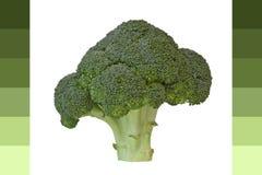 dodaje brokuły Zdjęcia Royalty Free