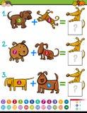 Dodatek edukacyjna aktywność dla dzieciaków ilustracja wektor