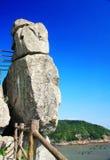 Dodatek specjalny Kształtujący kamień na Dongtou wyspy okręgu administracyjnym obrazy royalty free