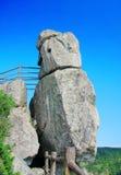 Dodatek specjalny Kształtujący kamień na Dongtou wyspy okręgu administracyjnym obraz stock