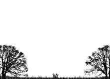 dodatkowe drzewa royalty ilustracja