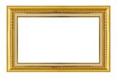 dodatkowej adobe eps formata ramy złocisty ilustrator zawiera Złocisty/ozłacał sztuki i rzemiosła deseniują obrazek ramę Obraz Royalty Free