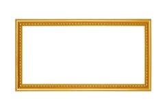 dodatkowej adobe eps formata ramy złocisty ilustrator zawiera Zdjęcie Stock