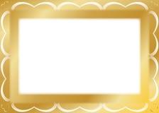 dodatkowej adobe eps formata ramy złocisty ilustrator zawiera Zdjęcia Royalty Free