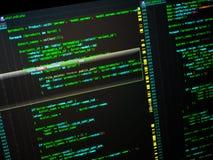 Dodatkowy procesor cyfrowanie obieg sieć rozwija używać php języka PHP na czarnym tle zdjęcia stock
