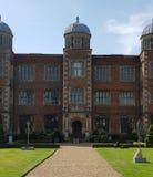 Doddington Hall, Haus des 16. Jahrhunderts in England, Großbritannien stockbild